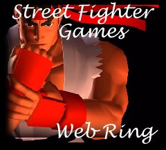 The Street Fighter Games Web Ring Logo